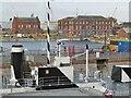 SU6200 : Portsmouth Dockyard by Colin Smith