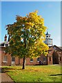 SK6274 : Autumn colour by the clock tower in Clumber Park by Graham Hogg