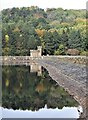 SK2696 : The Dam Wall at Broomhead Reservoir by Dave Pickersgill