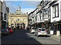 SO5174 : Broad Street and Butter Cross by Philip Halling