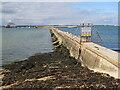 SZ5096 : Shrape Breakwater, East Cowes by Malc McDonald