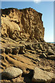 SY4690 : East Cliff by Derek Harper