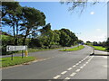 SZ5086 : Road junction at Blackwater, near Newport by Malc McDonald