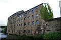 SD8332 : Former mills, Burnley by Chris Allen