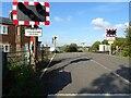 SO8947 : Wadborough level crossing by Philip Halling