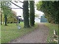 SZ5283 : Public bridleway near Godshill by Malc McDonald