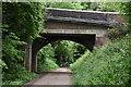 SZ5681 : A3020 road bridge by N Chadwick