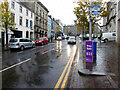 H4572 : Wet in High Street, Omagh by Kenneth  Allen