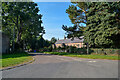 NT9932 : Doddington : Road by Lewis Clarke