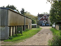 SZ5382 : Moor Farm, near Godshill by Malc McDonald
