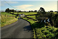 H4657 : Double bend along Kilnahusogue Road by Kenneth  Allen