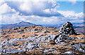 NM8864 : Summit area of Sgurr nan Cnamh by Trevor Littlewood