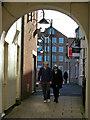ST3208 : Passageway in Chard town centre by Chris Allen
