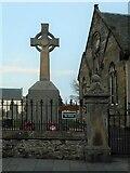 NO5402 : War memorial, Pittenweem by Richard Sutcliffe
