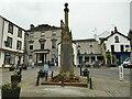 SD2878 : War memorial, Market Street, Ulverston by Stephen Craven