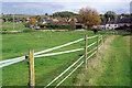 SP8242 : Horse paddock, Haversham by Stephen McKay