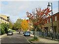 TQ3377 : Comfort Street, North Peckham by Malc McDonald