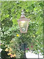 SO7745 : Great Malvern - Gas Lamp by Colin Smith