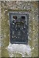 SZ5678 : Bracket, Triangulation pillar, Wroxall Down by N Chadwick