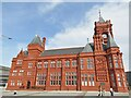 ST1974 : Cardiff - Pierhead Building by Colin Smith