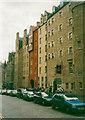 NT2573 : Tenement buildings, High Street, Edinburgh by Humphrey Bolton