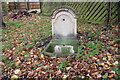 TL9565 : Public tap? No Romanesque Wall Fountain by Adrian S Pye