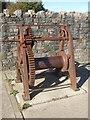 ST3970 : An old rusty winch by Neil Owen