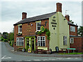 SO8690 : The Green Man in Swindon, Staffordshire by Roger  Kidd