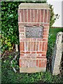 TQ8692 : Commemorative plaque by Paul Jones