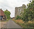 TQ5404 : Ruin of Wilmington Priory by PAUL FARMER