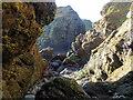 NO9091 : A rock-scape from Grum Briggs by Nigel Feilden