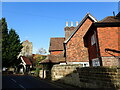 TQ5541 : Looking towards St Mary's Church, Speldhurst by Marathon