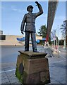 SP3379 : Statue of Sir Frank Whittle by Mat Fascione