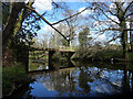 SE3457 : Footbridge over the River Nidd, Knaresborough by habiloid