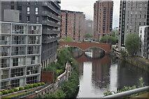 SJ8297 : River Irwell by N Chadwick