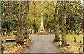 SK8052 : London Road Cemetery - Cross of Sacrifice by Richard Croft