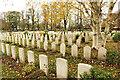 SK8052 : London Road Cemetery, CWGC plot by Richard Croft