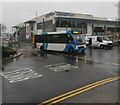 ST2995 : Unusual Stagecoach bus livery, Glyndwr Road, Cwmbran by Jaggery