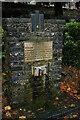 TR1457 : Canterbury: drinking fountain, Dane John Gardens by Christopher Hilton