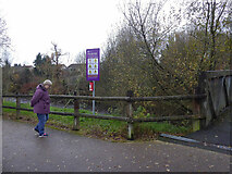 H4772 : Additional notice along the highway to Health path, Mullaghmore by Kenneth  Allen