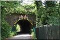 SU9081 : Low railway bridge by N Chadwick