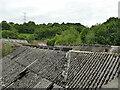SE1224 : Roofscape at a former brickworks by Stephen Craven
