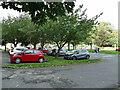 SE2337 : Horsforth Hall Park: carpark by Stephen Craven