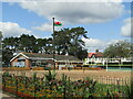 ST1577 : Cardiff - Victoria Park - Beach Volleyball Pitch by Colin Smith