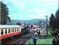 SO7680 : 7325 arrives at Arley Station by Martin Tester