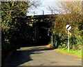 SS9379 : End of the 30 zone at the northern edge of Coychurch by Jaggery