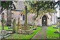 ST8380 : Churchyard Cross, All Saints Church, Littleton Drew, Wiltshire 2020 by Ray Bird