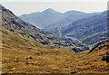 NG8800 : View to Lochan nam Breac from Màm Unndalian by Nigel Brown
