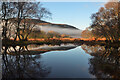 NC8605 : Still pool in Strath Brora, Sutherland by Andrew Tryon