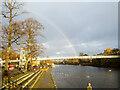 SJ4066 : Rainbow at the Groves by Jeff Buck